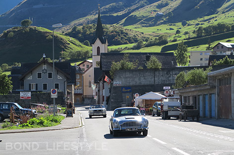 Report Goldfinger Reloaded Event In Switzerland Bond