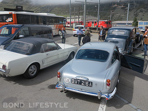Aston Martin DB5 Goldfinger Reloaded Rolls-Royce Ford Mustang