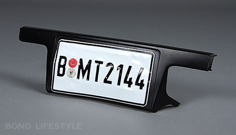BMW 750 licence plate b mt 2144