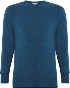 N. Peal sweater skyfall blue