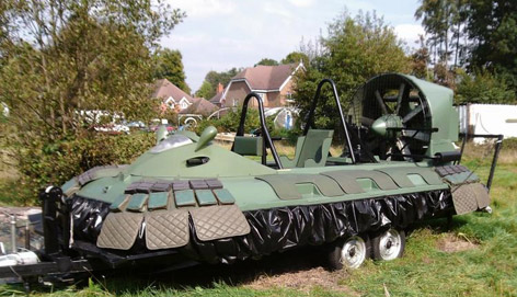 Die Another Day Osprey 5 hovercraft