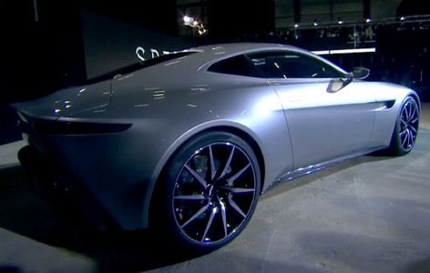 aston martin db10 rear