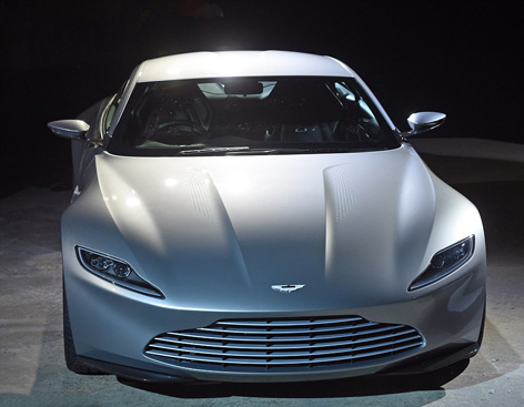 Aston Martin DB10 front left