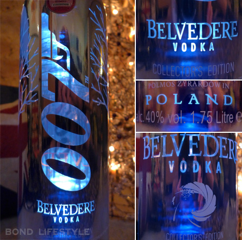 belvedere silver sabre bottle limited edition details