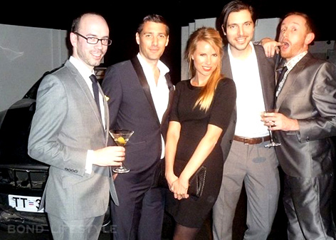 belvedere launch bond in motion the gang