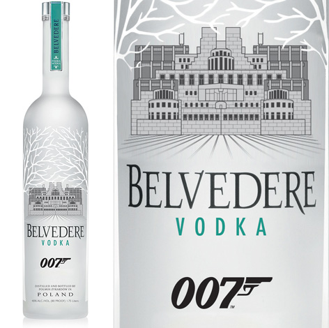 belvedere mi6 bottle limited edition