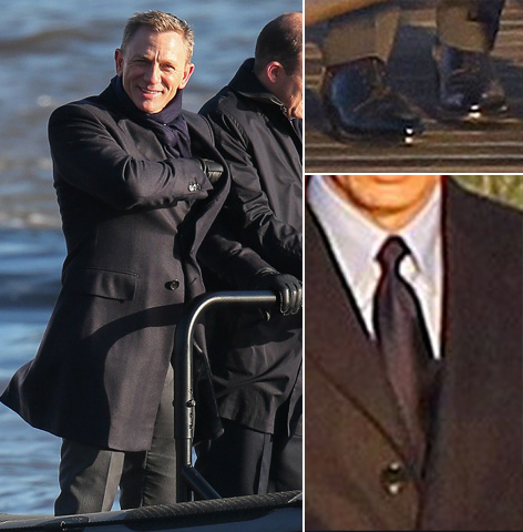 spectre outfit london thames