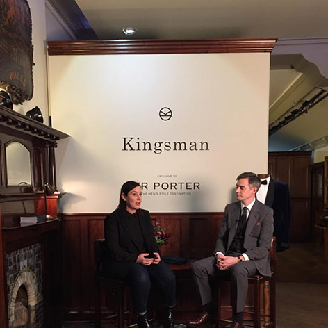 arianne phillips toby bateman mr porter q a kingsman