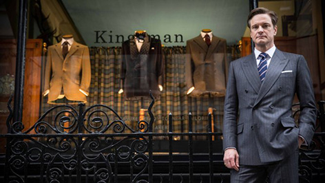 Kingsman The Secret Service and Mr Porter Q A at Savile Row pop up store 1