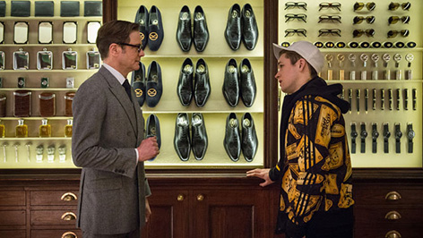 Kingsman The Secret Service and Mr Porter Q A at Savile Row pop up store 2