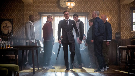 Kingsman The Secret Service and Mr Porter Q A at Savile Row pop up store 4