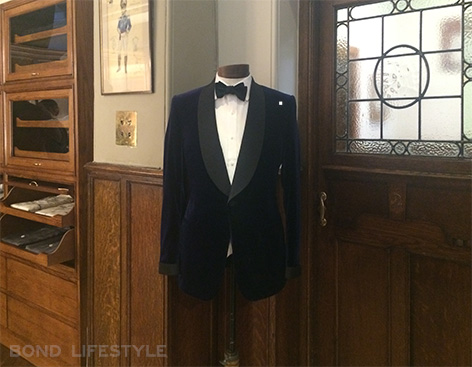 Savile Row popup store mr porter kingsman secret service suit