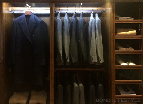 Savile Row popup store mr porter kingsman secret service suit jacket