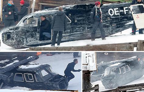 Britten-Norman BN2 Islander Spectre James Bond