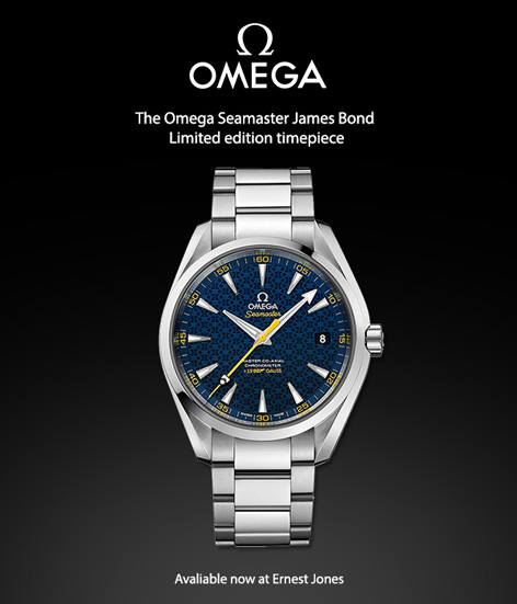 New James Bond Omega Seamaster Aqua Terra Limited Edition