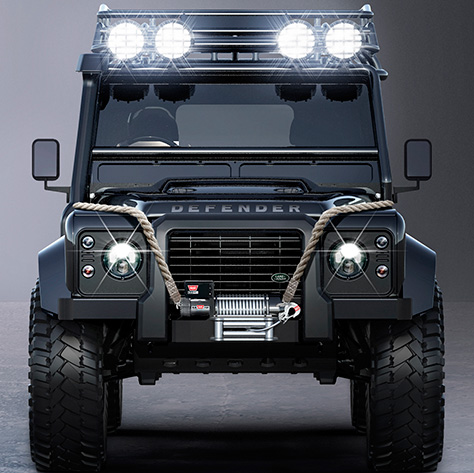 land rover defender big foot spectre james bond