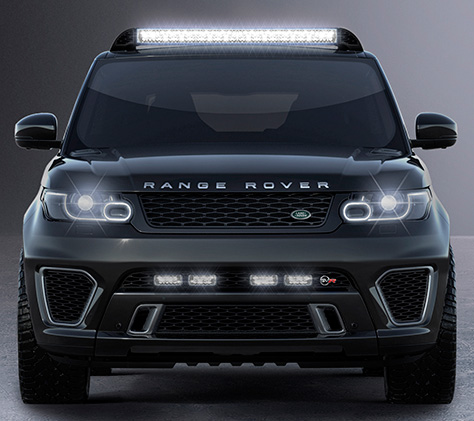 Range Rover Sport SVR Spectre James Bond