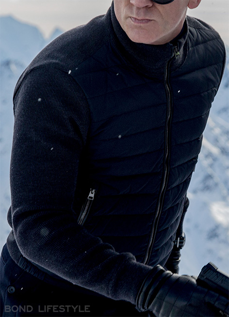 Bond gilet jacket spectre