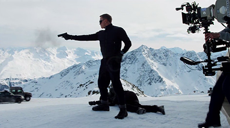 spectre solden bond first video footage