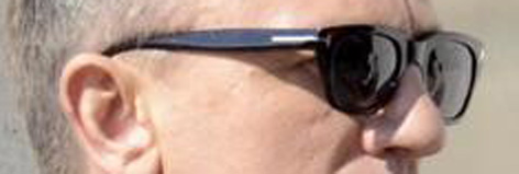 Tom Ford sunglasses James Bond Rome Daniel Craig