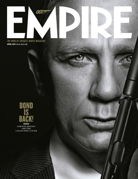 empire cover april 2015 daniel craig james bond spectre limited edition