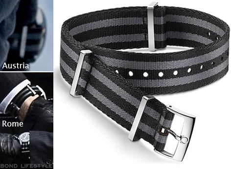 Omega NATO grey black strap james bond spectre