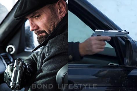 mr hinx dave bautista gun arsenal firearms af2011 dueller prismatic
