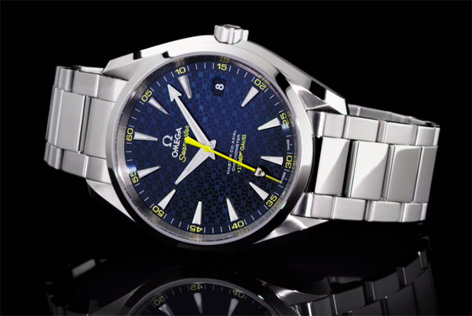 omega seamaster aqua terra master co-axial limited edition front