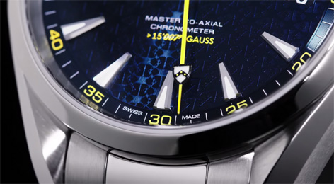 omega seamaster aqua terra master co-axial limited edition hand coat of arms