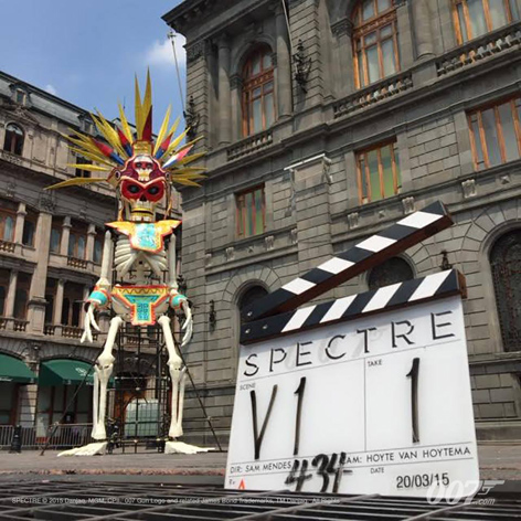 day of the dead mexico pretitle sequence spectre