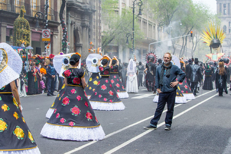 sam mendes mexico day of the dead festival