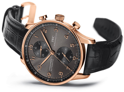 IWC Portuguese Chronograph Automatic Red Gold