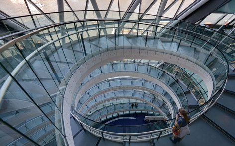 london city hall staircase interior spectre scene