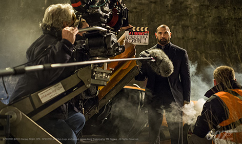 spectre dave bautista rome car chase