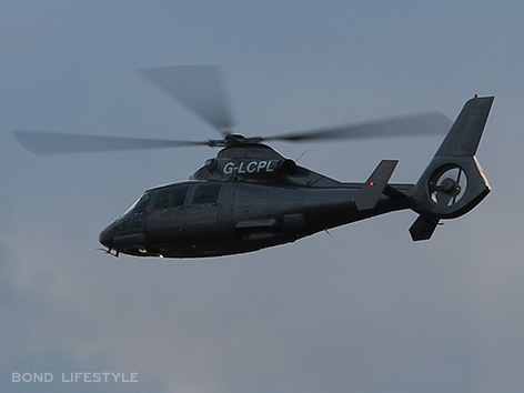 aerospatiale G-LCPL helicopter thames river spectre filming london