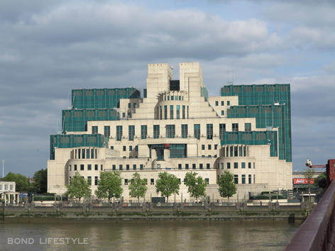 mi6 building thames river spectre filming london
