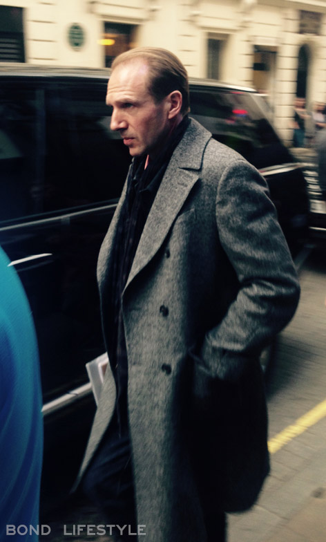 ralph fiennes spectre rules filming london 3