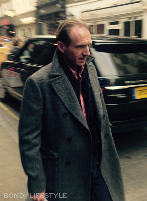 ralph fiennes spectre rules filming london 2
