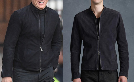 john varvatos racer jacket james bond spectre