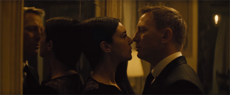 monica bellucci james bond daniel craig spectre