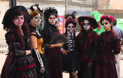 day of the dead festival mexico spectre 2
