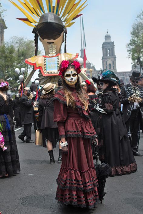 spectre day of the dead festival mexico