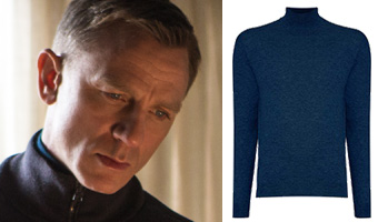 npeal sweater mock turtle neck lapis blue james bond spectre