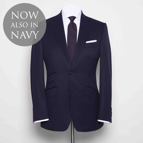 anthony sinclair navy conduit cut suit