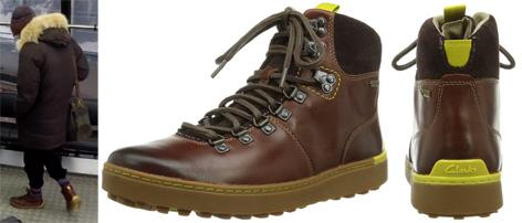 Clarks Nanu GTX boots shoes Q SPECTRE