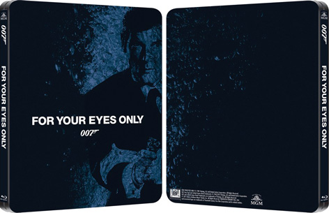 James Bond steelbook for your eyes only