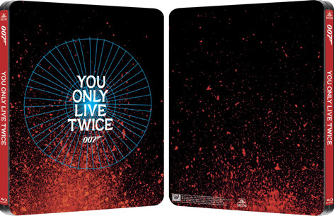 James Bond steelbook you only live twice