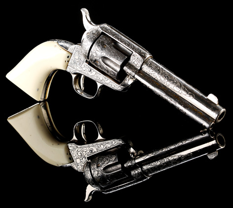 Prop Store Auction Scaramanga Christopher Lee Revolver