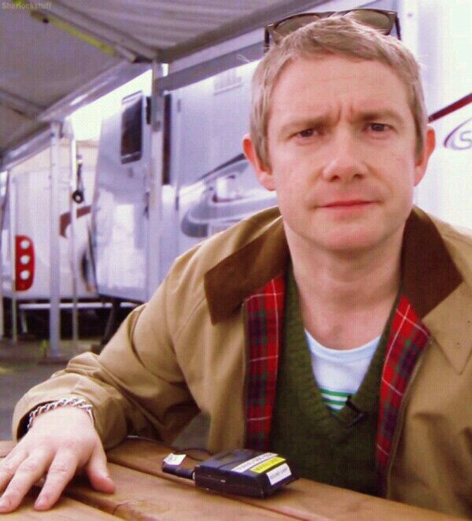 Martin Freeman Baracuta project 137 waxed limited edition