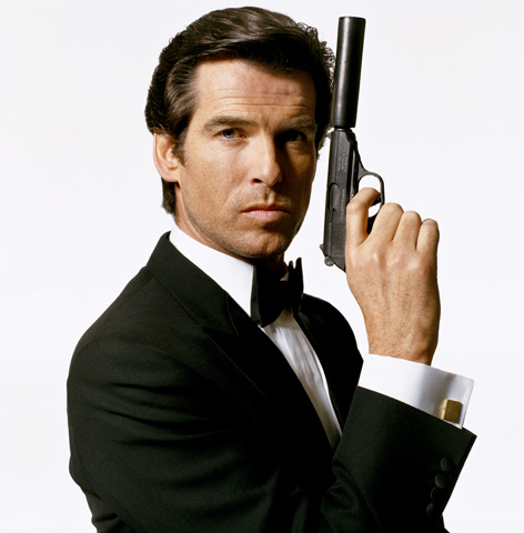 Pierce Brosnan James Bond GoldenEye Terry ONeill